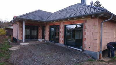 Eigenheim im Rohbau in Triebes