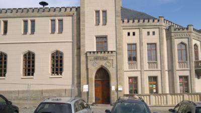 historische Fassade Rathaus Leutenberg